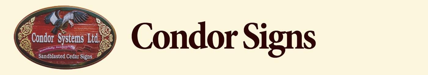 Condor Signs